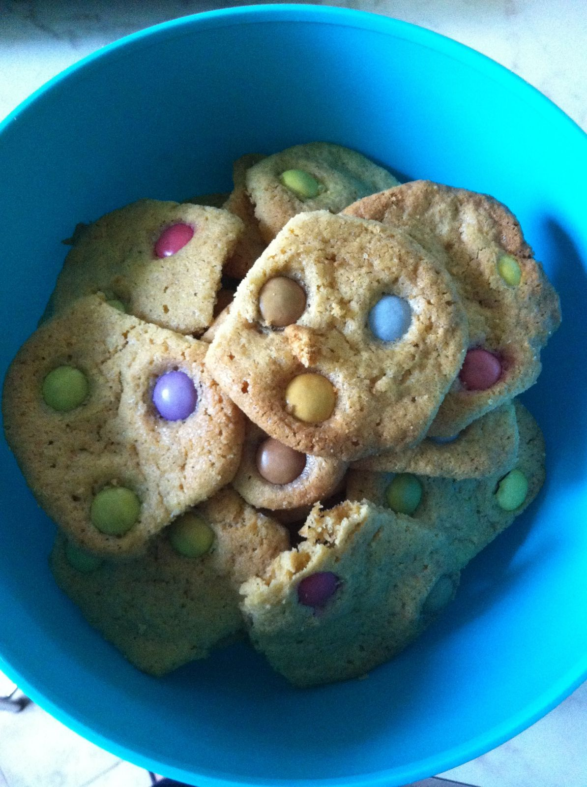 Cookies smarties (thermomix)