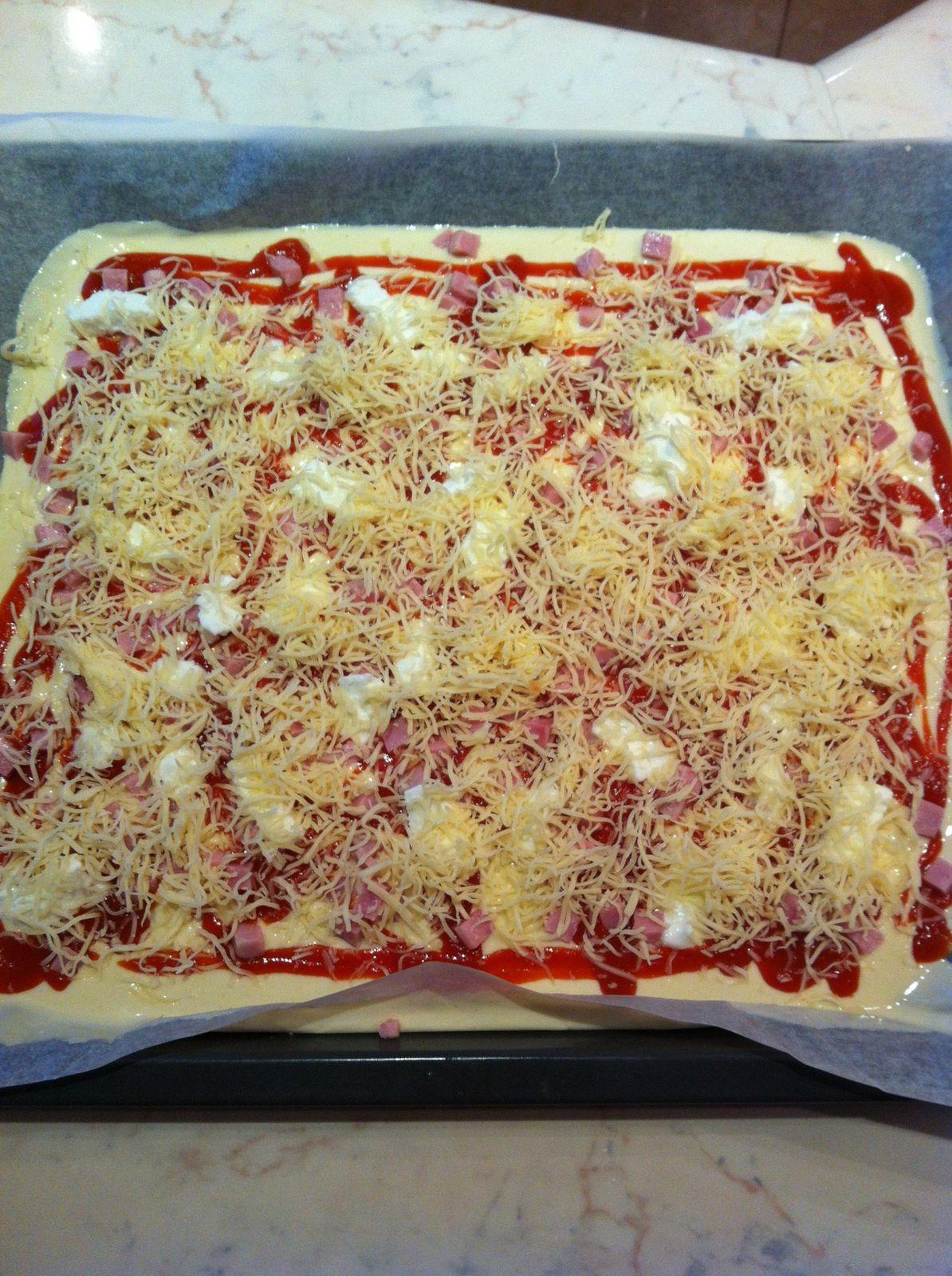Pizza liquide (avec ou sans thermomix)