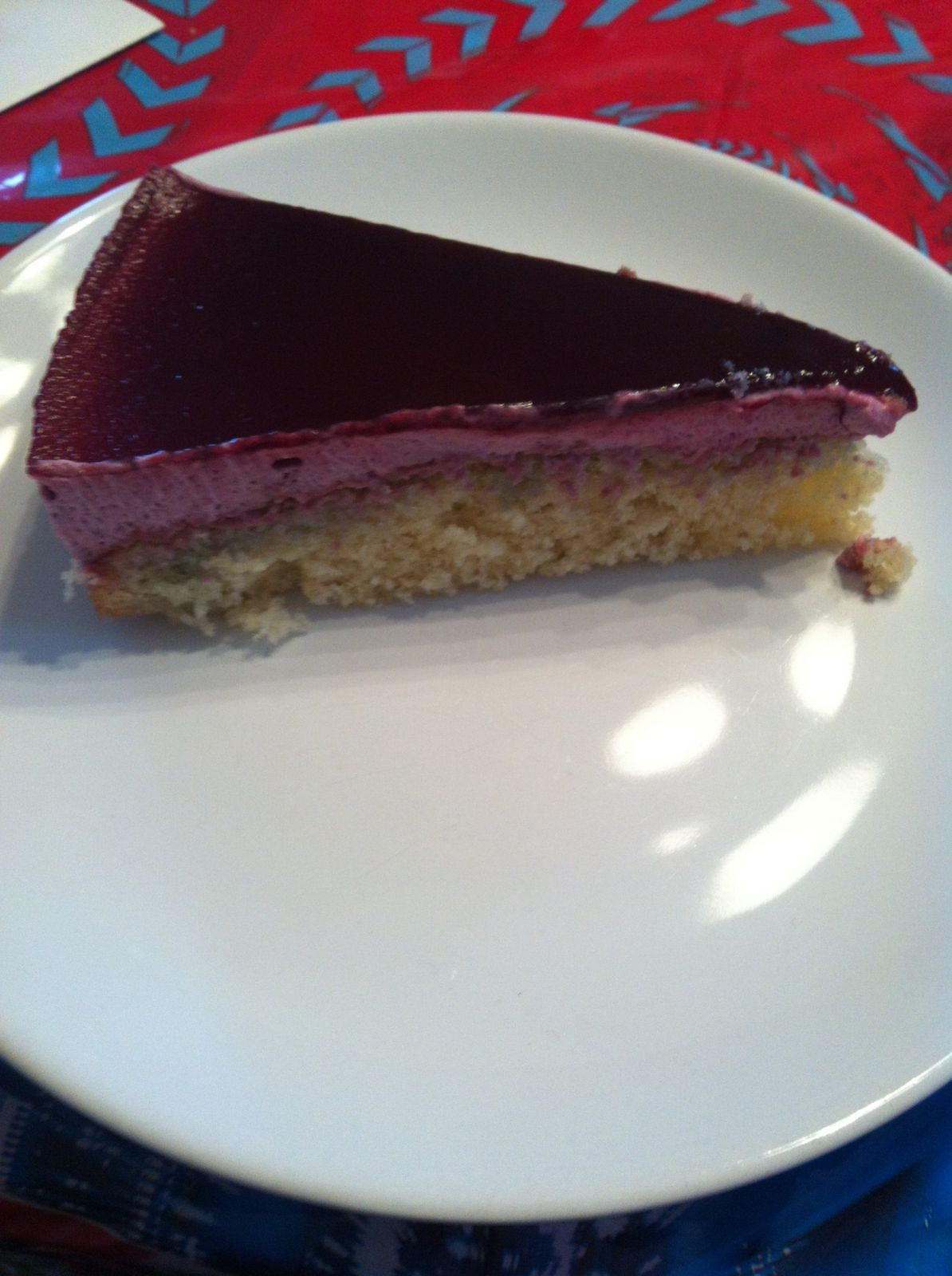 Royal cassis ou bavarois cassis(thermomix)