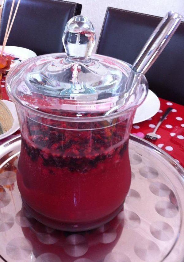 cocktail fruits rouges (sans thermomix)