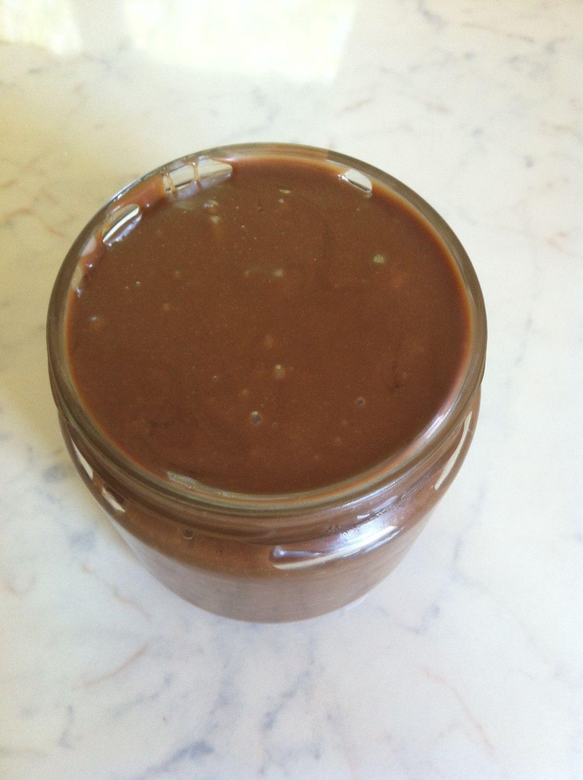 Nutella maison les d lices de cintit - Nutella maison lait concentre ...