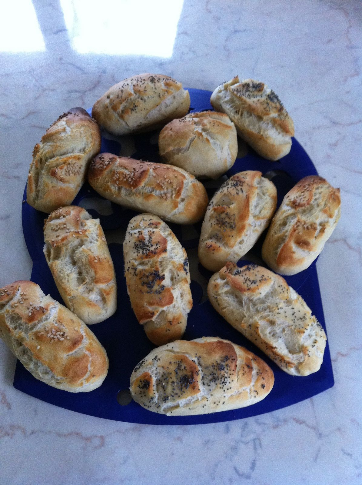 minis baguettes (thermomix)