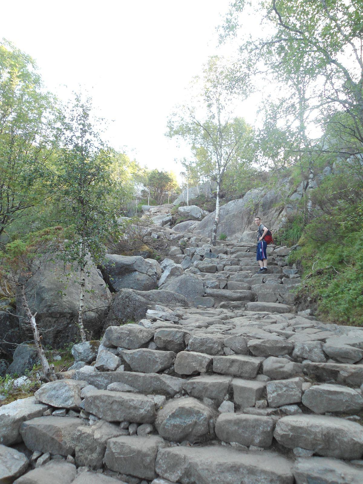 Jour 22 Stavanger -> Sandnes -> Jorpeland (63.7 km)