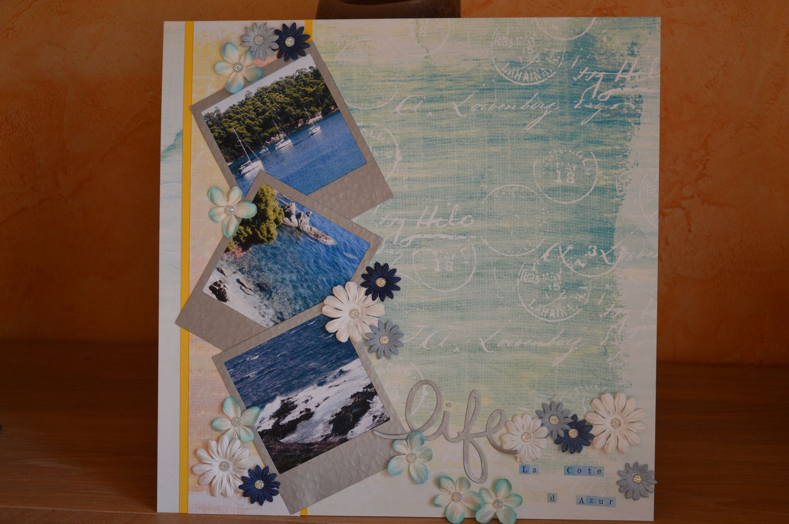 Version scrap 2015 challenge blogueuse n°3