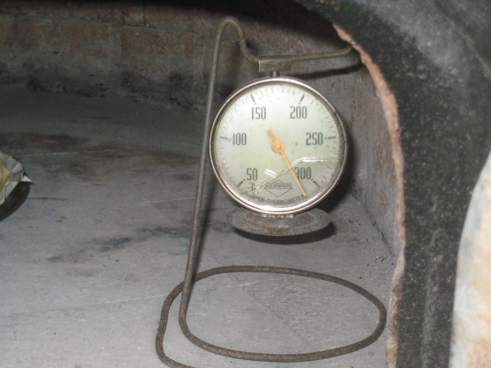 L'enfournement à 320°C