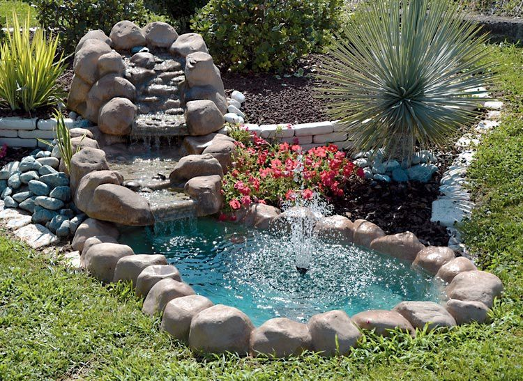 Come costruire i laghetti da giardino la guida al for Cascate per laghetti da giardino