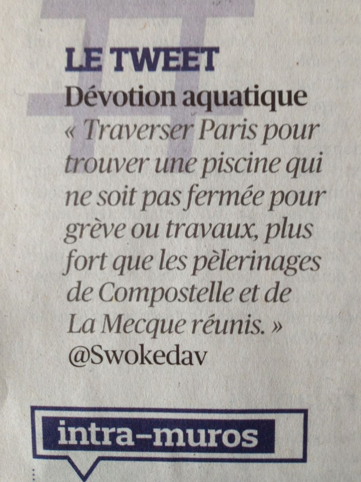 TWEET ONLY / source : le FIGARO
