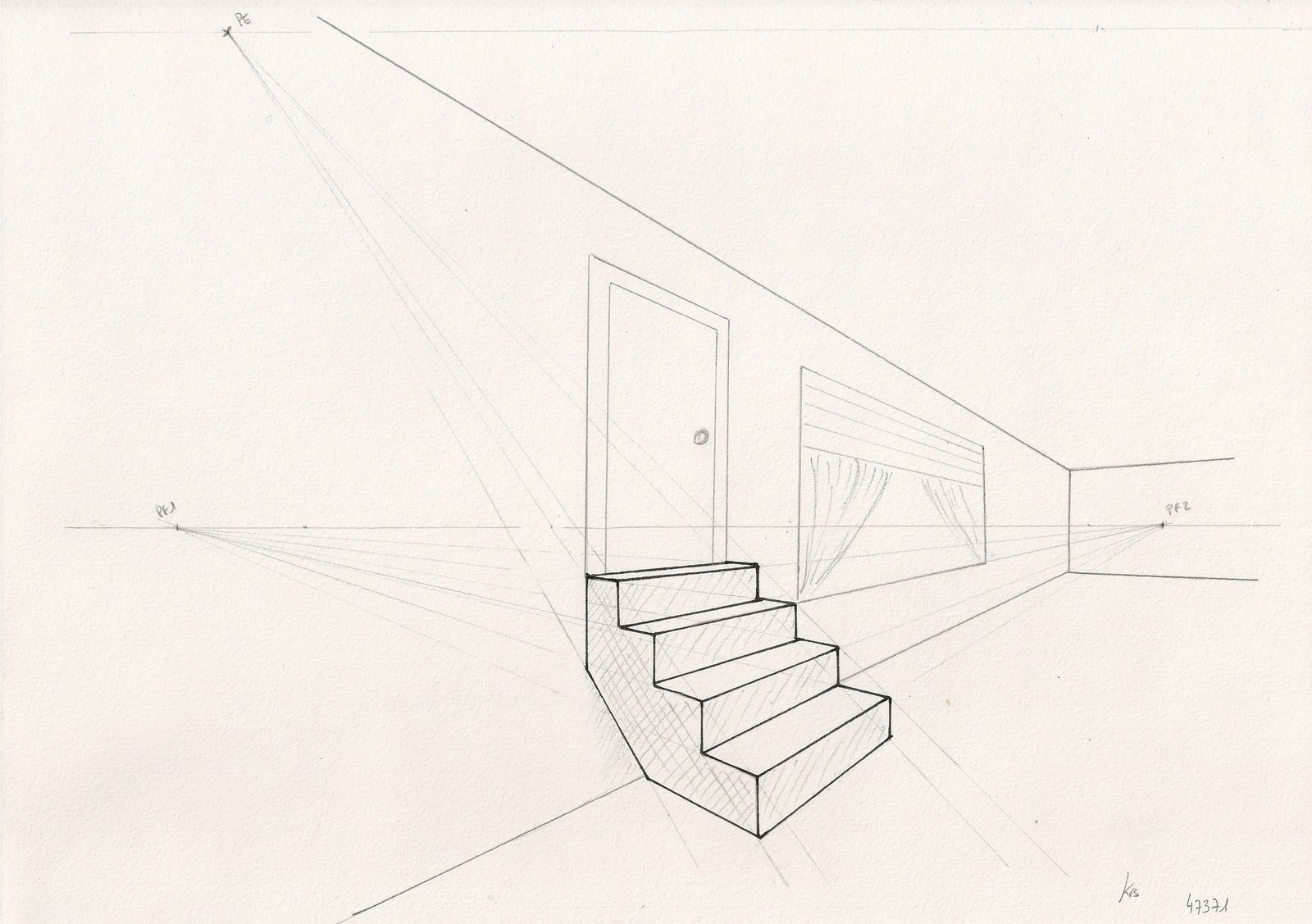 Perspective Escalier : Initiation au dessin en perspective christelle albrecht