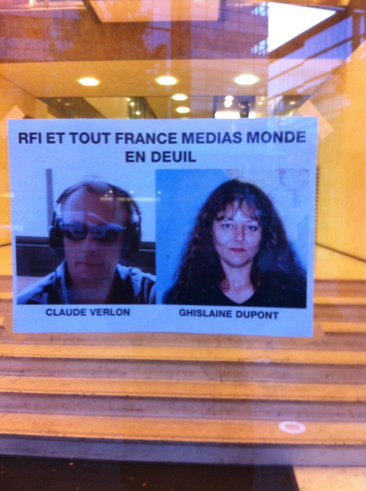 Porte d'entrées rue des nations unies , France 24 , 5 novembre 2013 à 9H.