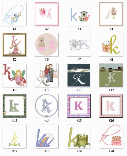 Monogramme K