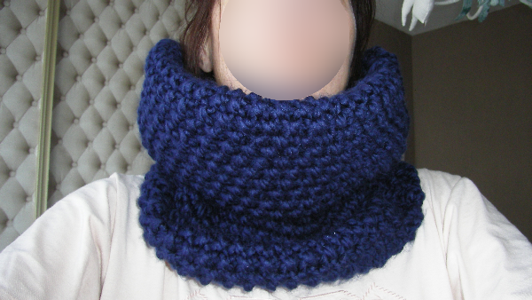 Le snood de paresseuse