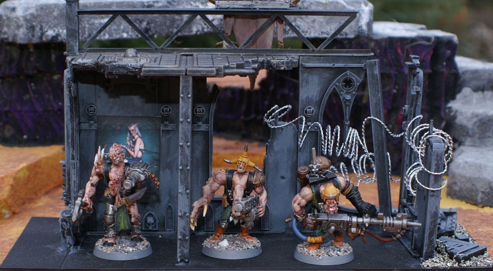 Mutants renégats pour warhammer 40k