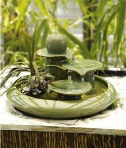 Ambiance feng shui nature passionn ment d co for Fontaine japonaise d interieur