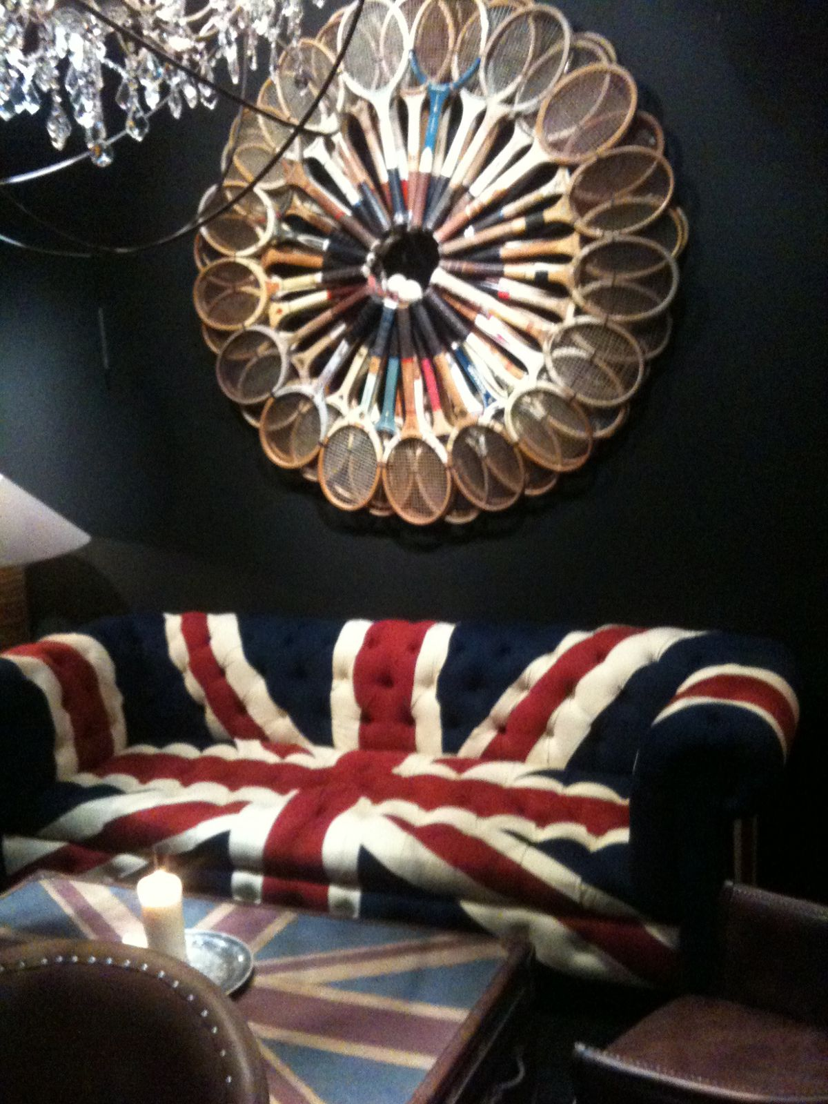 Le style british anglais mobilier original for Site de decoration salon