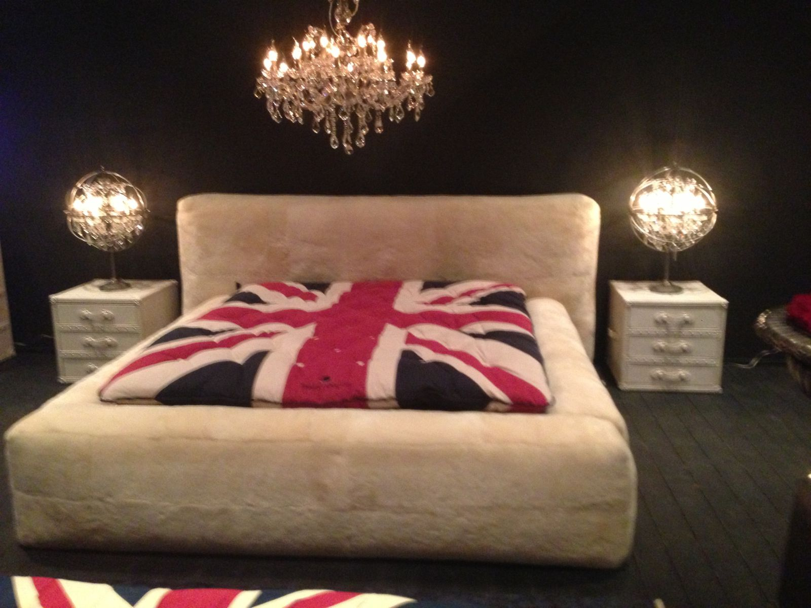 Le style british anglais mobilier original for Chambre style british