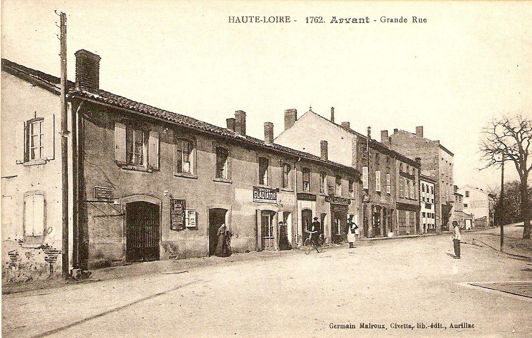 Les villages de Haute-Loire :Arvant