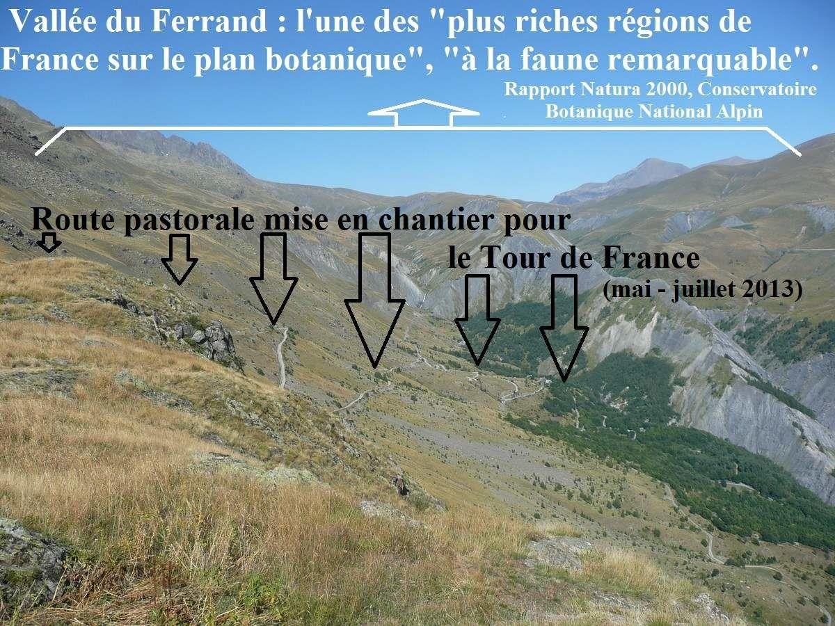 [Pétition] NON au Tour de France au Col de Sarenne !