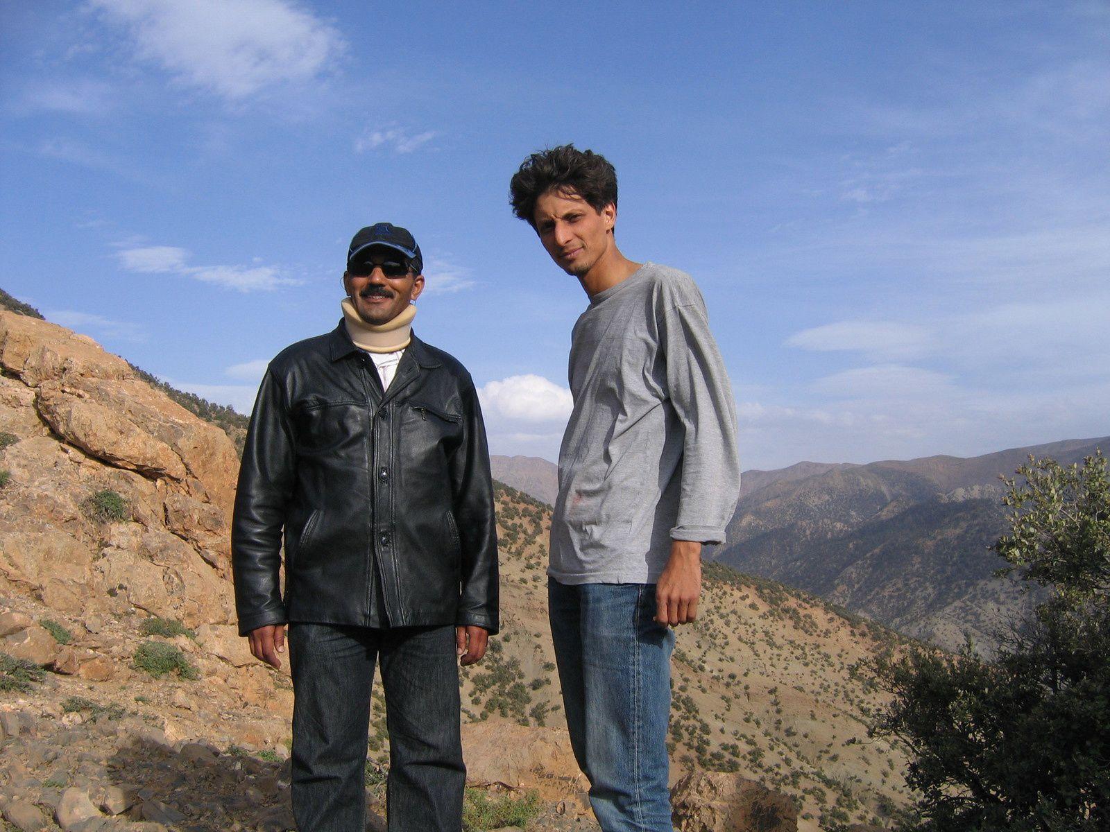 Nostalgie:  Anfegou une expérience et des amis...Hassane Loukili