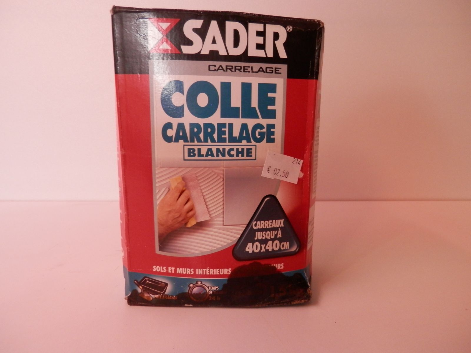 Bricolage for Colle carrelage blanche