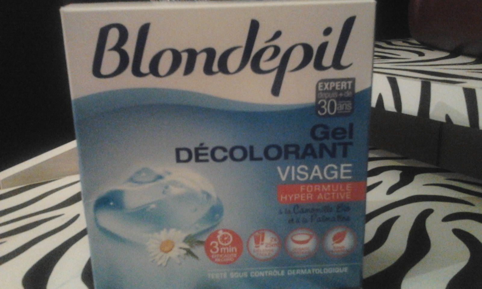 Test du gel décolorant Blondépil