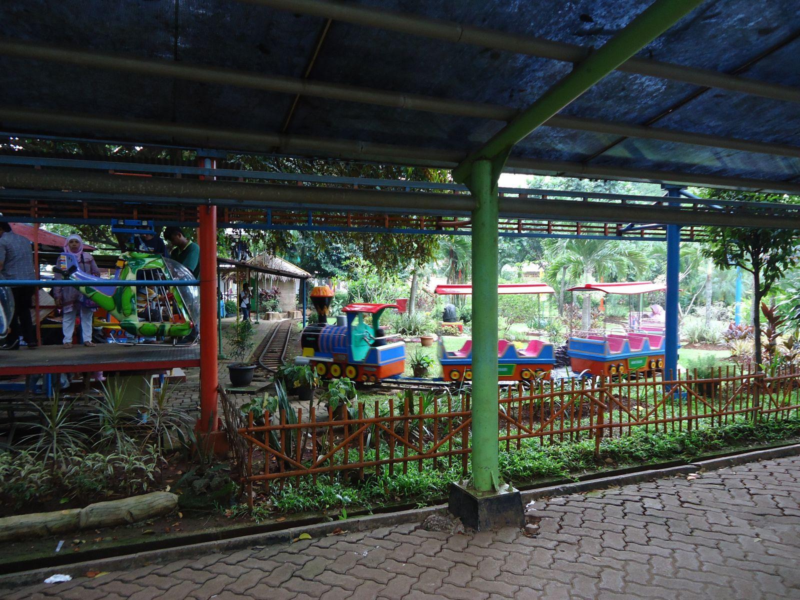 Et même un mini parc pour les enfants