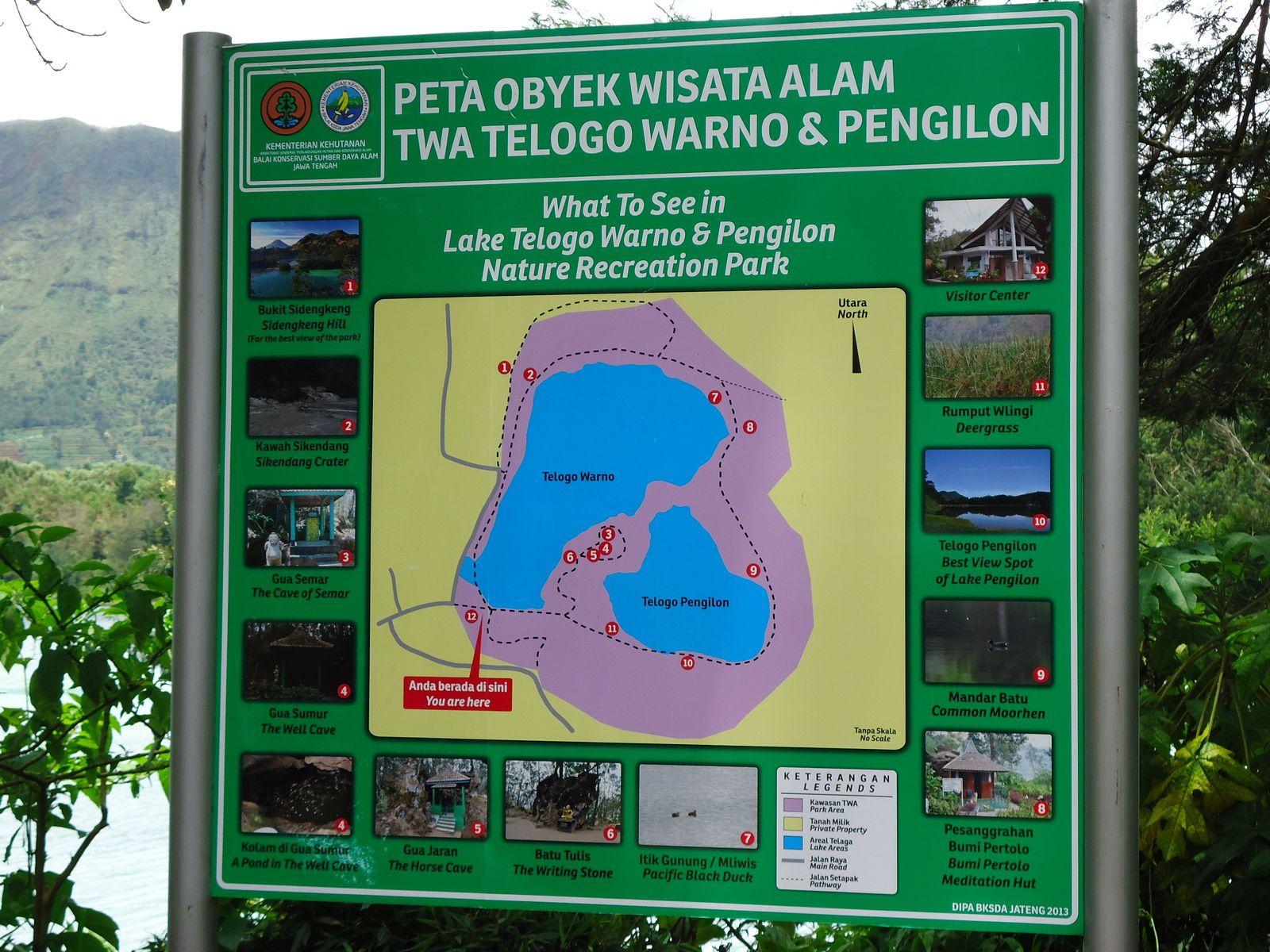 Le plateau de Dieng - Java