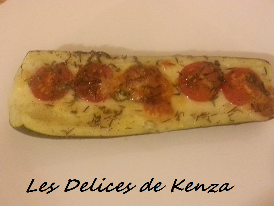 Courgettes Gratinees a l'Italienne