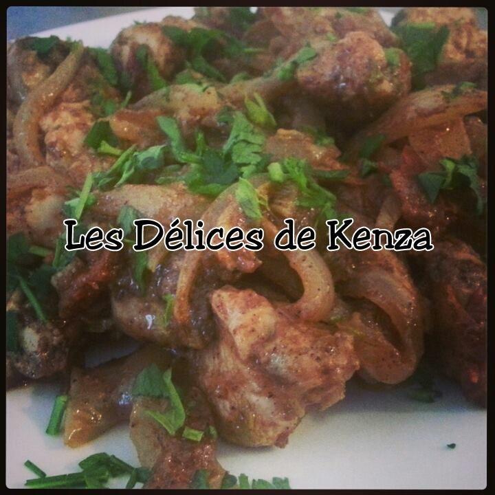 Poulet Aux Epices Libanaises