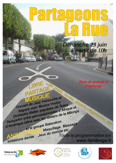 Initiative en Transition : &quot&#x3B;Partageons la rue&quot&#x3B;, la fête du quartier Victor Hugo