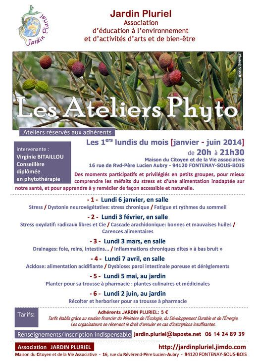 Initiative en transition : &quot&#x3B;Les Ateliers Phyto&quot&#x3B;