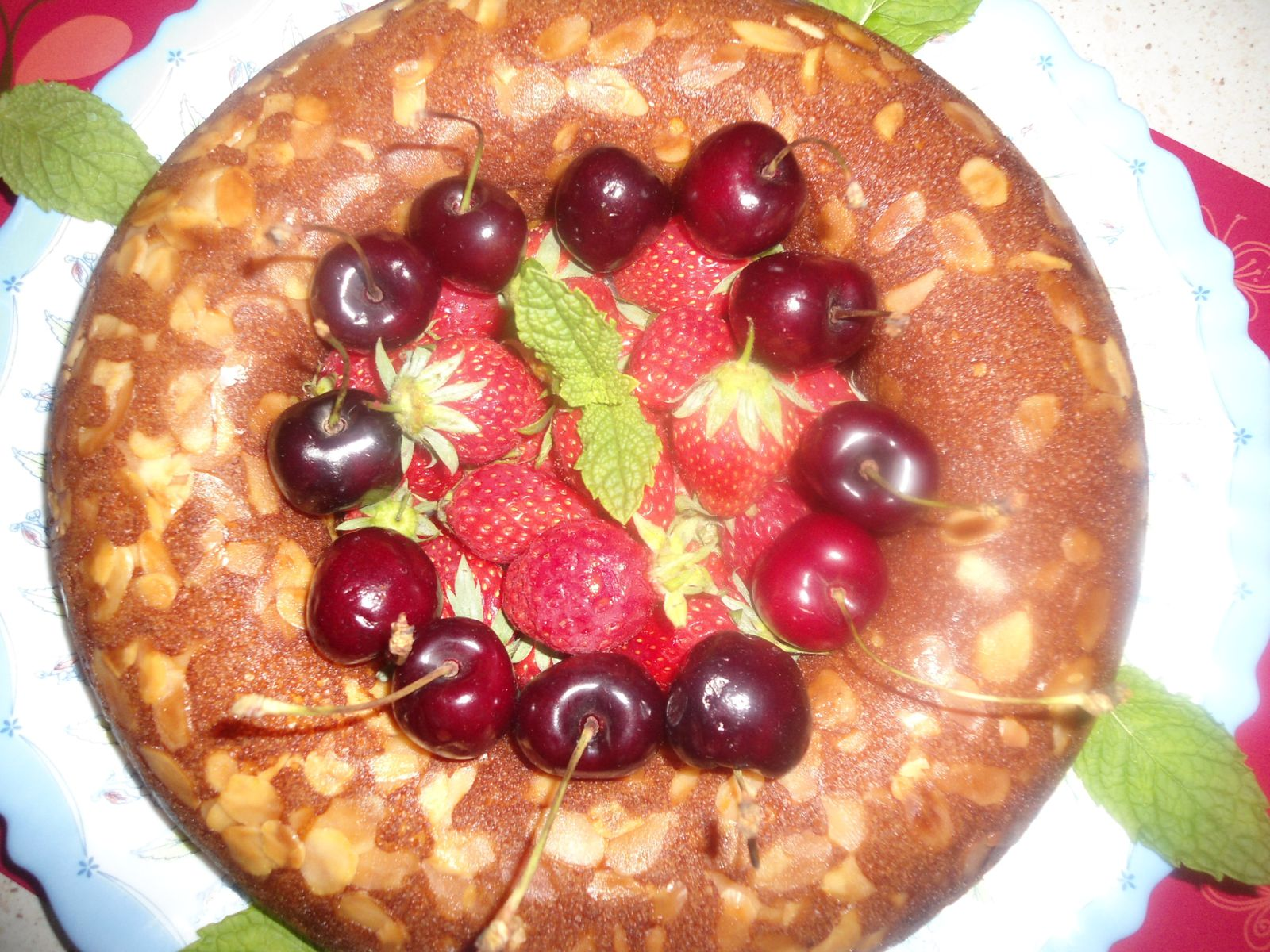 Gateaux au fruit rouge
