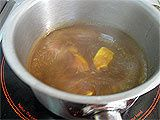Médaillon de veau et foie gras au raisin - 23