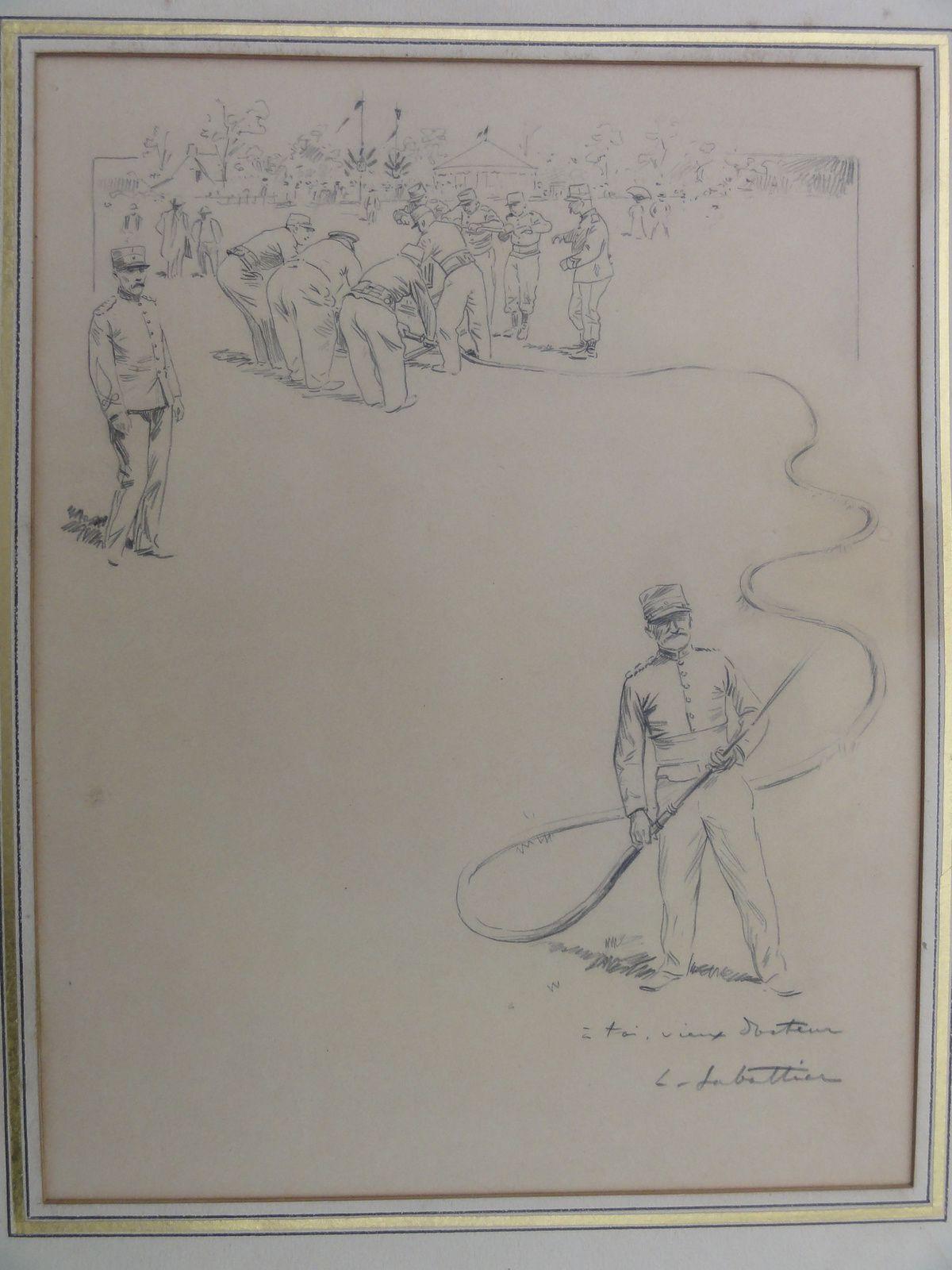 manoeuvre de la pompe à bras (pompiers) Louis Sabbatier