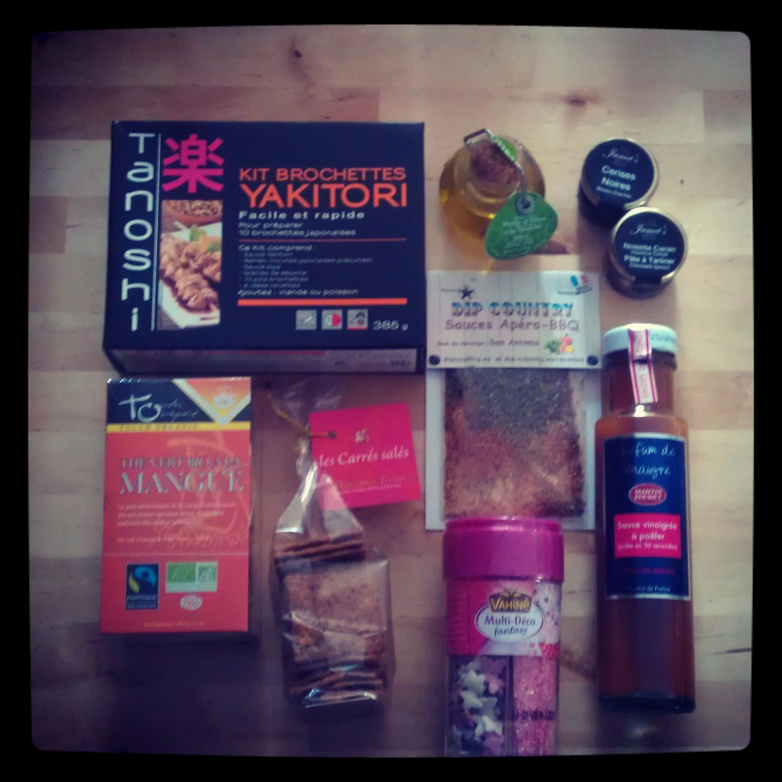 Test box culinaire : la eat your box Madmoizelle 2 (mai 2013)