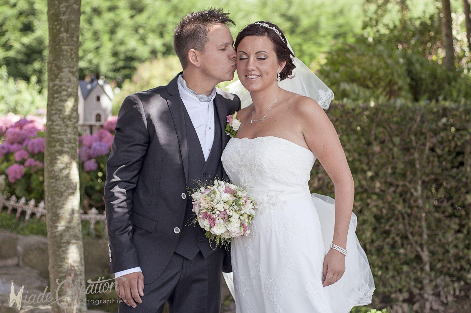 Amandine + Romain mariage guinguette vintage
