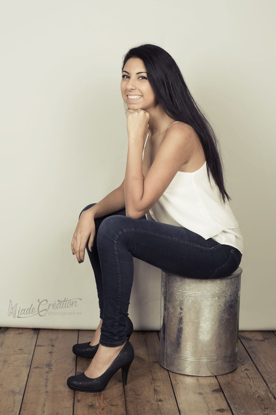 Myriam 20 ans séance studio