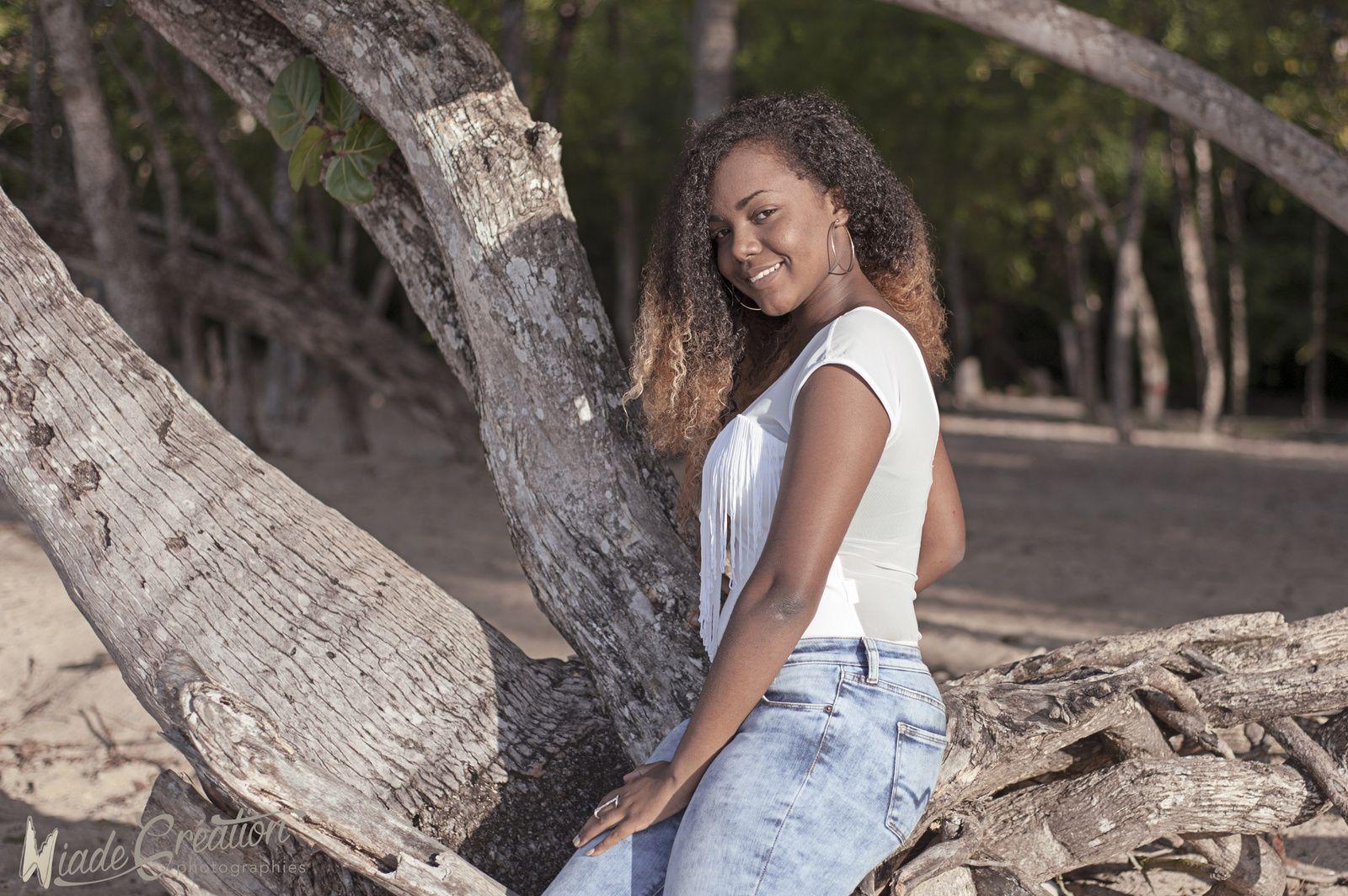 Séance photo famille en Martinique