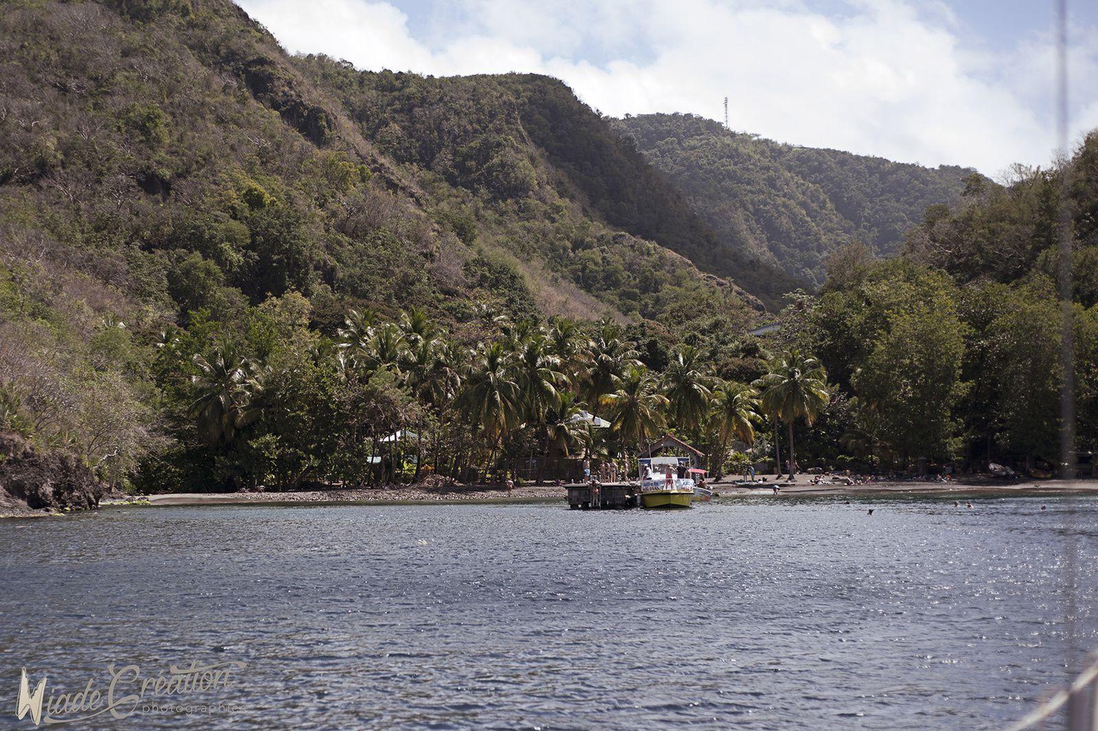 Anse Noire  et Plage de Sainte Lucie