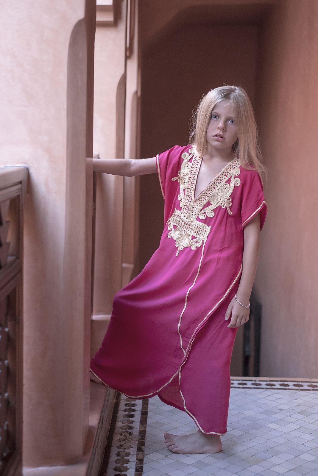Séance photo Charlie dans une Riad à Marrakech
