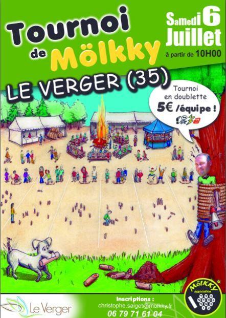 Tournoi de mölkky (festif) au Verger le 6 juillet