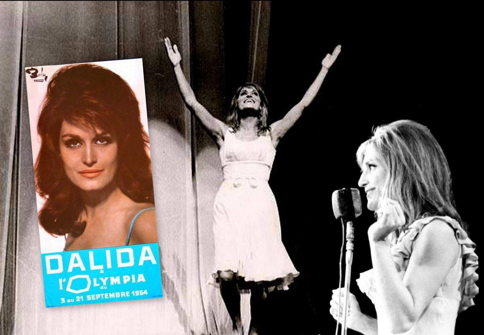 Du 3 au 21 septembre, Dalida retrouve le public parisien à l'Olympia.
