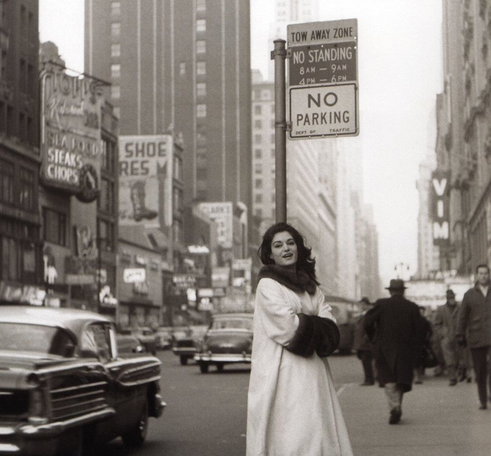Dalida à Manhattan.