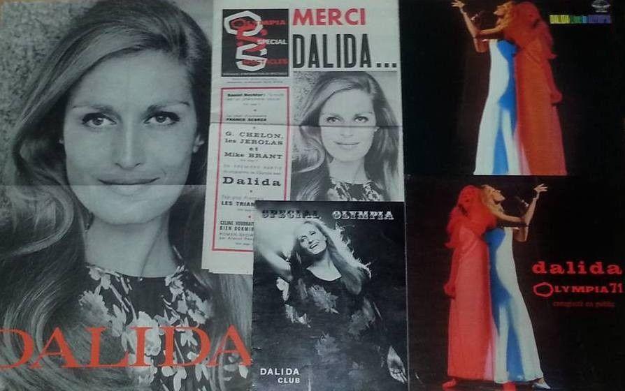 Dalida à l'Olympia 1971
