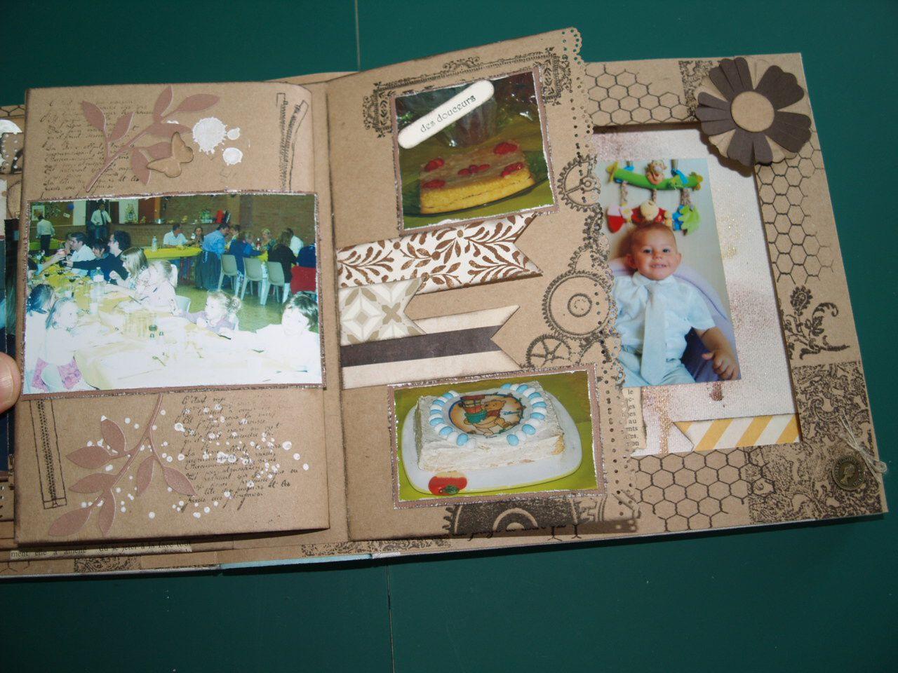 Encreurs couleur café et craft blanc&#x3B; napperons&#x3B; Bigz L Fleurs du bonheur et papillons superbes&#x3B; Embosslits Ailes Magnifiques&#x3B; Sizlits Rameau d'olivier&#x3B; papier d'argile et le moule fleurs&#x3B; set de tampons Morning Post  Alphabet, Simply Stars, Six-Sidded Sampler, Off the grid, Gorgeous Grunge, Filmstrip, voeux mignons et T'as un ticket&#x3B; perforatrices Hexagone et duo de tickets en kit.