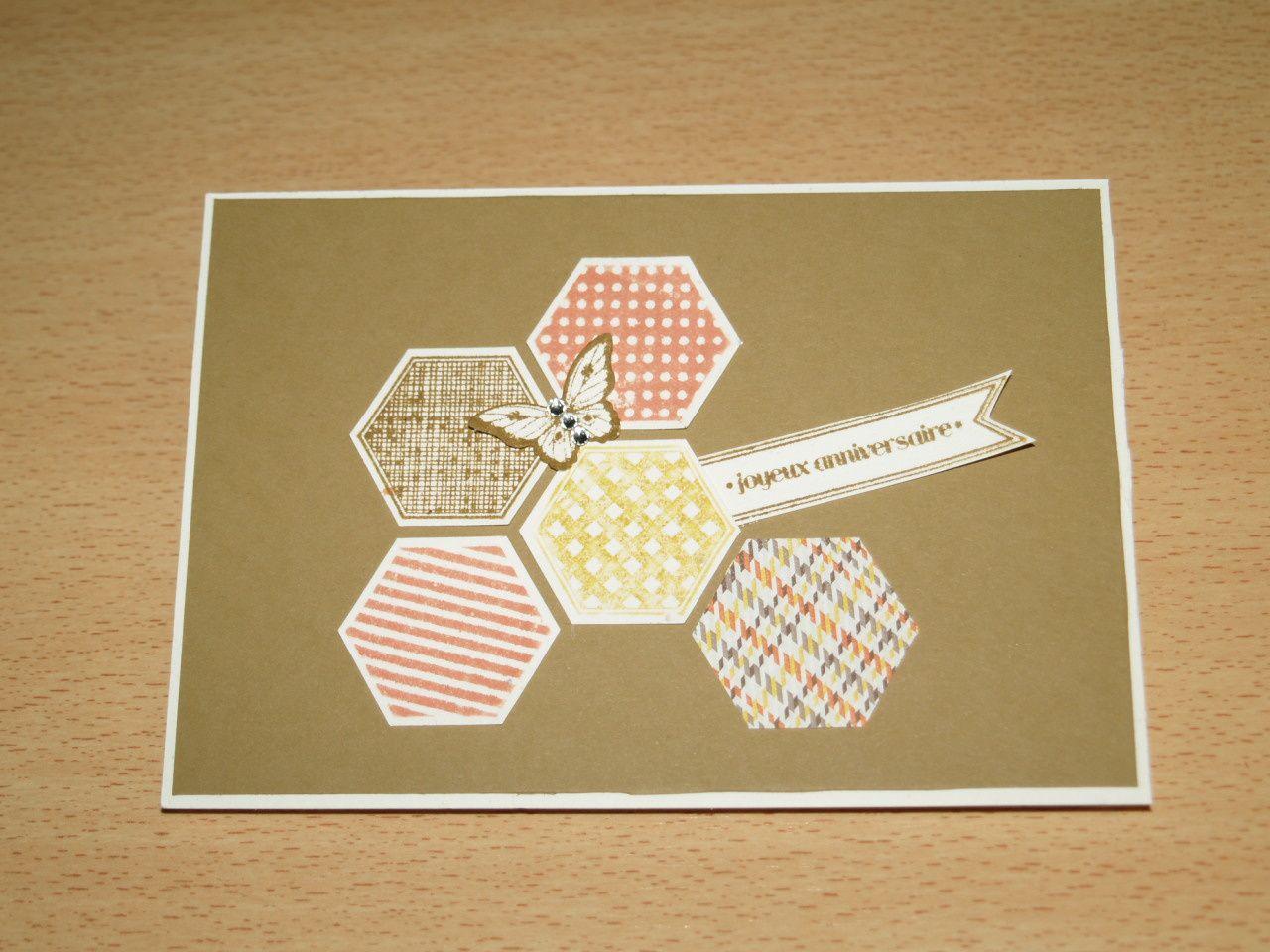 Set de tampon Six-Sidded Sampler et papillon potpourri&#x3B; encreurs in color 2013-15&#x3B; perforatrices hexagone et papillon Bitty.