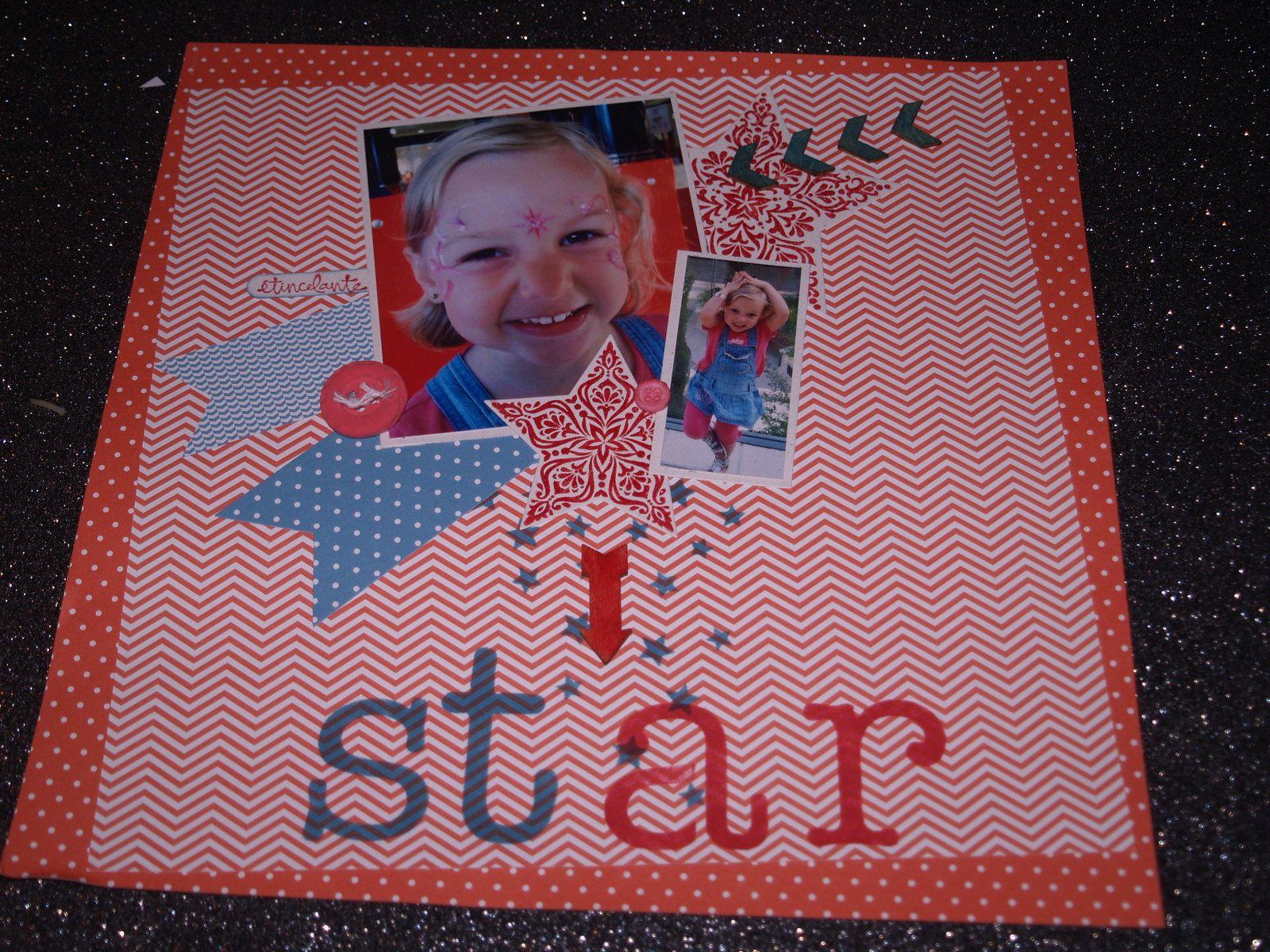 papiers imprimés de la série design collection brillant et douce nuit&#x3B; papiers cartonnés doux ciel et riche raisin&#x3B; framelits étoiles et bannière&#x3B; tampons éblouissant de joie&#x3B; éléments en bois&#x3B; masque étoiles.