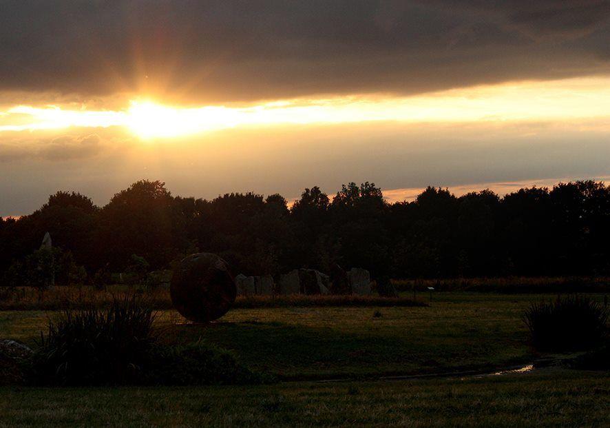 Solstice d'été au parc monumental de Teillé