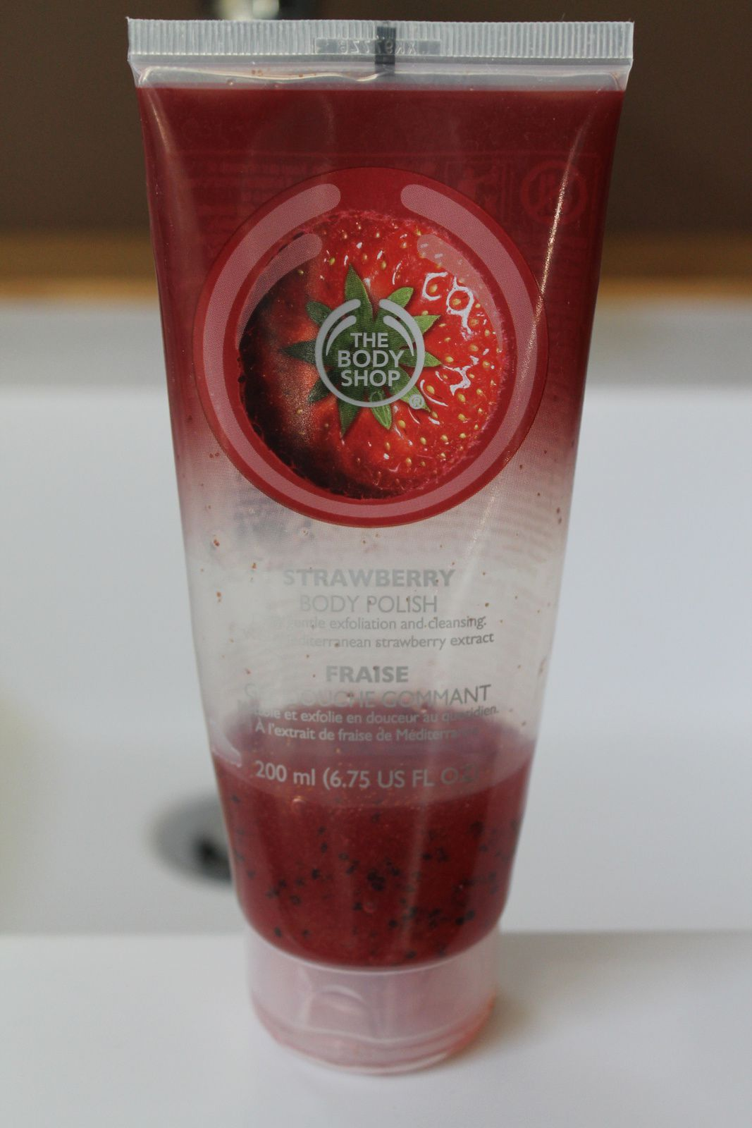Gel douche gommant by The Body Shop