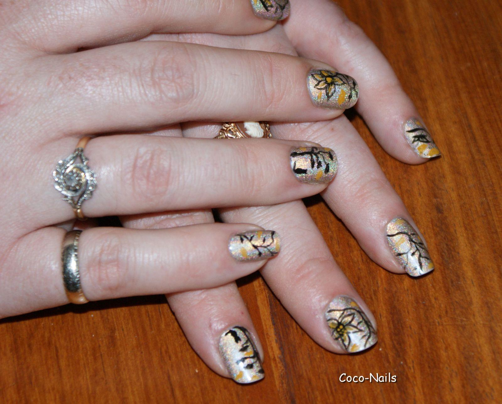 Nail art japonisant