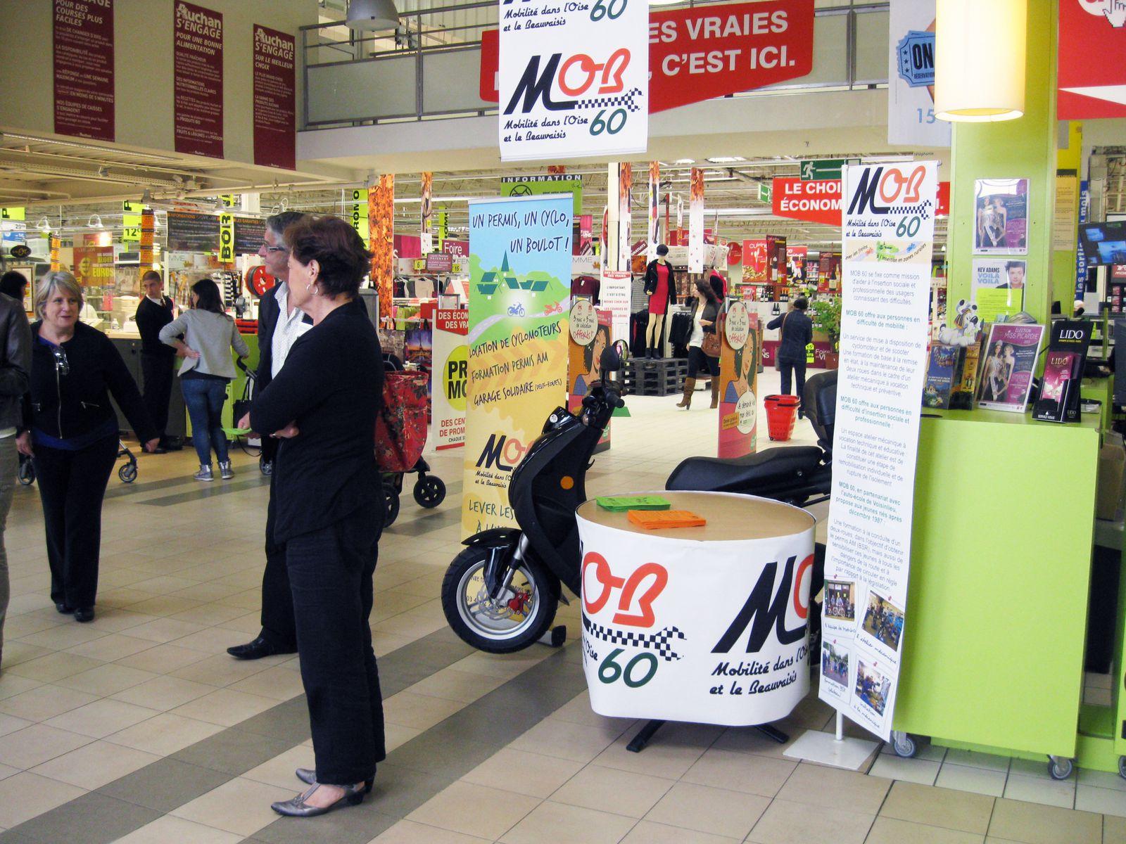 MOB60 récompensée par la Fondation AUCHAN